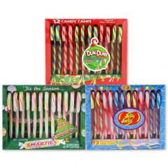 Mixed Pack Candy Canes 3-12 ct cradles