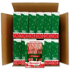 Peppermint R&W Candy Canes 12-12 ct cradles