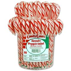 Spangler Large Candy Canes 80 ct jar