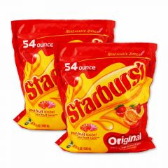 Starburst Fruit Chews 2-54 oz bags