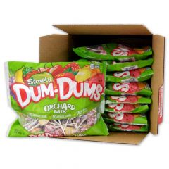 Dum Dums Orchard Mix - 14 oz Bag 9 Pack