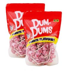 Bubble Gum Dum Dums 2 pack