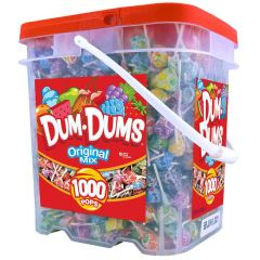 Dum Dums 1,000 ct bucket