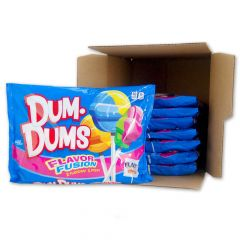 Dum Dums Flavor Fusion - 14 oz Bag 8 Pack