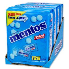 Mentos Chewy Mints 4-125 ct bags