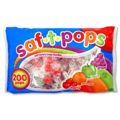 Saf-T-Pops 200 ct bag