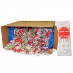 Saf-T-Pops Thank You 25 lb bulk case