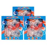 Swirl Saf-T-Pops 100 ct box 3 pack