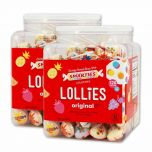 Smarties Lollipops 2-120 ct jars