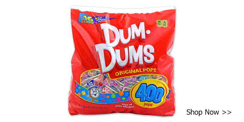 Buy Dum Dums for all the ghosts and goblins trick-or-treaters