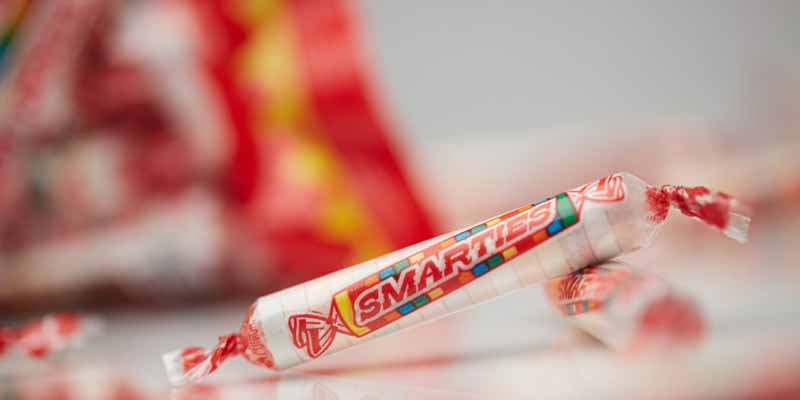 Smarties Roll Candy