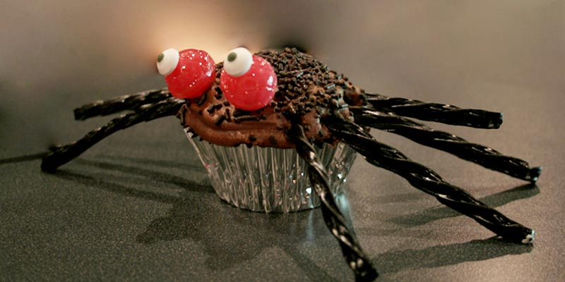 How To: Spider Cupcakes Image